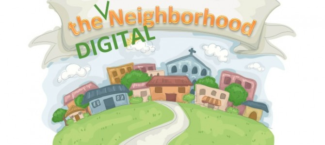 Local Heart of Digital Neighborhoods